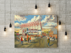 valley parade going to the matchcanvas a3 size